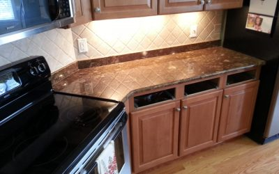 Minsk Bronze Kitchen Granite Countertops – Cary NC