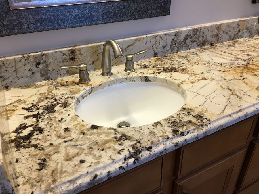 Bathroom granite countertops in Apex NC